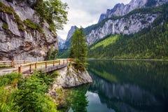Lago Gosausee Immagine Stock Libera da Diritti