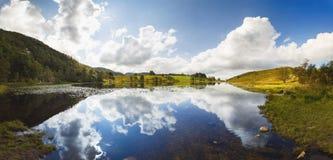 Lago Gramstadtjorna em Noruega Foto de Stock Royalty Free
