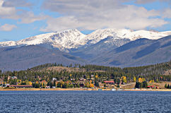 Lago Granby, Colorado imagem de stock royalty free
