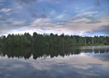Lago grande Fotos de archivo