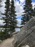 Lago grande de la roca Imágenes de archivo libres de regalías