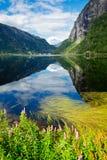 Lago Granvinsvatnet Foto de archivo libre de regalías