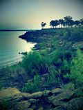 Lago grApevine Imágenes de archivo libres de regalías