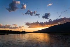 Lago in Grecia Fotografia Stock Libera da Diritti