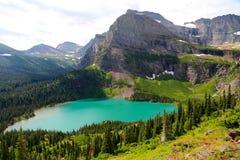 Lago Grinnel del Glacier National Park Fotografia Stock Libera da Diritti