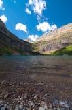 Lago Grinnell Fotografia Stock