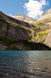 Lago Grinnell, sosta nazionale del ghiacciaio Immagine Stock Libera da Diritti