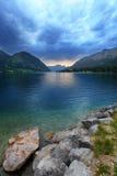 Lago Grundlsee. imagem de stock royalty free