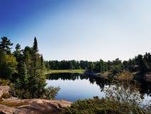 Lago Grundy Fotografía de archivo libre de regalías