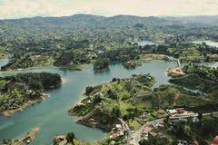 Lago Guatape Immagine Stock Libera da Diritti