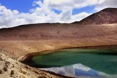Lago Gurudongmar, Sikkim del norte, la India Imágenes de archivo libres de regalías