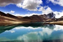 Lago Gurudongmar, Sikkim del norte, la India Fotografía de archivo libre de regalías