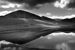 Lago Gurudongmar, Sikkim norte, Índia Fotos de Stock Royalty Free