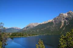 Lago gutierrez - Patagonia - la Argentina Imagen de archivo