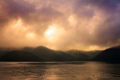 Lago Hakone, Giappone Immagini Stock Libere da Diritti