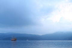 Lago Hakone, Giappone Immagine Stock Libera da Diritti