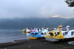 Lago Hakone, Japón Imágenes de archivo libres de regalías