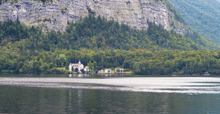 Lago Hallstatt, Áustria Fotografia de Stock