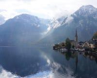 Lago Hallstatt Fotos de archivo libres de regalías