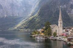 Lago Hallstatt imágenes de archivo libres de regalías