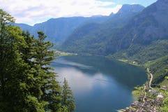 Lago Hallstatt, Austria, Europa Fotografia Stock Libera da Diritti