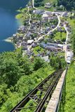 Lago Hallstatt, Austria, Europa Fotografie Stock