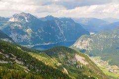 Lago Hallstatt, Dachstein Foto de Stock Royalty Free