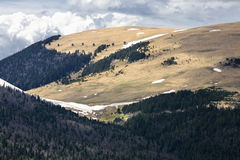 lago halny naki plateau obrazy stock