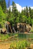 Lago hanging, barranco de Glenwood, Colorado imágenes de archivo libres de regalías