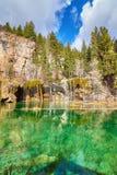 Lago hanging, barranco de Glenwood, Colorado, los E.E.U.U. imágenes de archivo libres de regalías