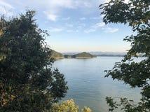 Lago a Hangzhou, Zhejiang fotografia stock