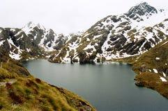 Lago Harris, trilha de Routeburn foto de stock royalty free
