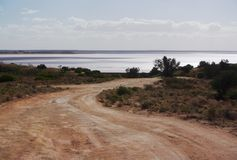 Lago Hart, con acqua! Immagine Stock Libera da Diritti