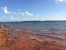 Lago Hartwell Fotos de Stock