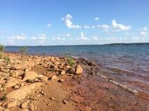 Lago Hartwell fotografie stock