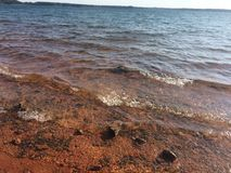 Lago Hartwell fotografia stock