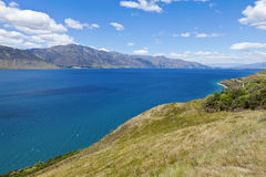 Lago Hawea Imagen de archivo libre de regalías