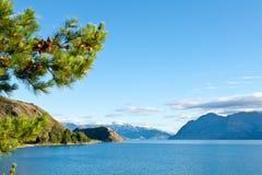 Lago Hawea Imagenes de archivo