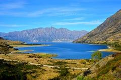 Lago Hawea Imágenes de archivo libres de regalías