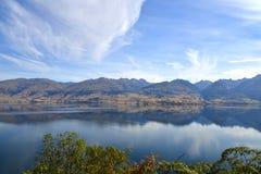 Lago Hawea Fotografía de archivo