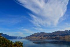 Lago Hawea Fotos de archivo libres de regalías