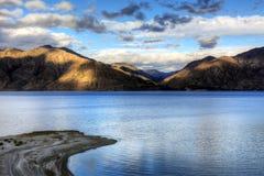 Lago Hawea, Nueva Zelandia Imagen de archivo