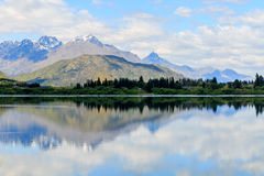 Lago Hayes foto de archivo