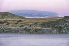 Lago Hayes, Nuova Zelanda Fotografia Stock Libera da Diritti