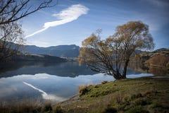Lago Hayes, Queenstown, Nuova Zelanda Fotografie Stock