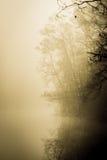 Lago haze Immagini Stock