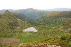 Lago heart Imagenes de archivo