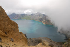 Lago heaven de Changbaishan Fotografia de Stock Royalty Free