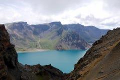 Lago heaven de Changbaishan Imagens de Stock Royalty Free
