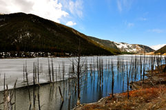 Lago Hegben Foto de Stock Royalty Free